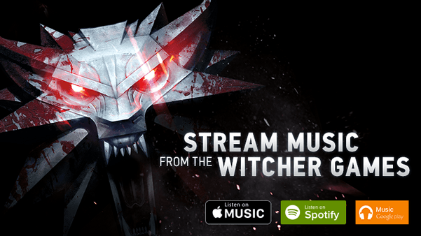 217985003 Apple Music, CD Projekt Red, Google Play Music, Spotify, The Witcher