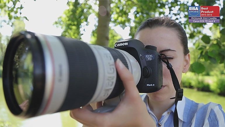 EUROPEAN PROSUMER DSLR CAMERA 2015-2016 - Canon EOS 7D Mark II