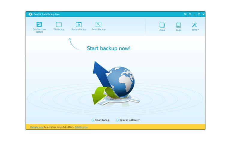 software EaseUS Todo Backup