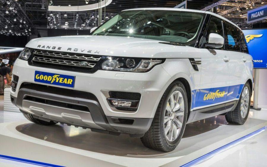 Range Rover Sport elege os pneus Goodyear