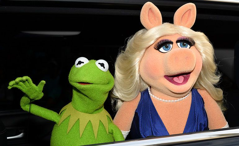 Kermit e Miss Piggy, The Muppet Show