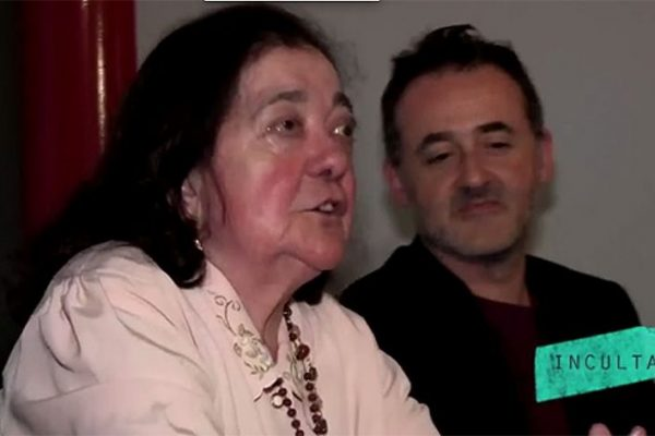 Maria José da Silva, realizadora e queijeira, com Rui Poças