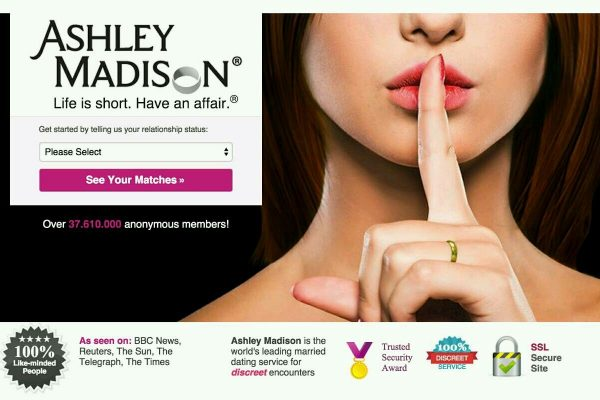 Ashley Madison dadps de utilizadores revelados