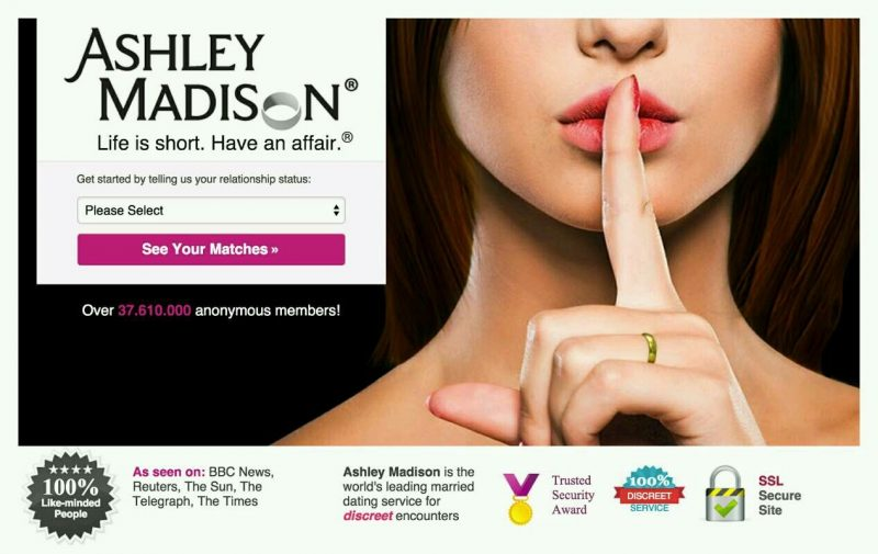 Ashley Madison dadps de utilizadores revelados