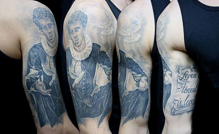 As tatuagens e as Pessoas Ilustradas