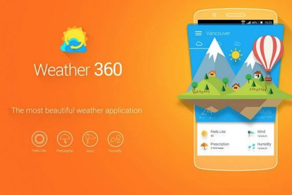 Weather 360 Android Google Play