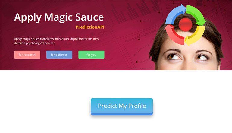 App Apply-Magic-Sauce