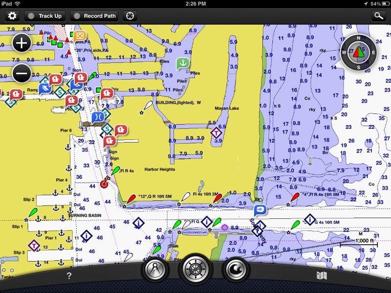 BlueChart Mobile Garmin App, Garmin, gps, iPad, iphone