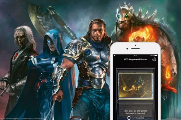 "primeiro ""scanner"" de cartas Magic: The Gathering"