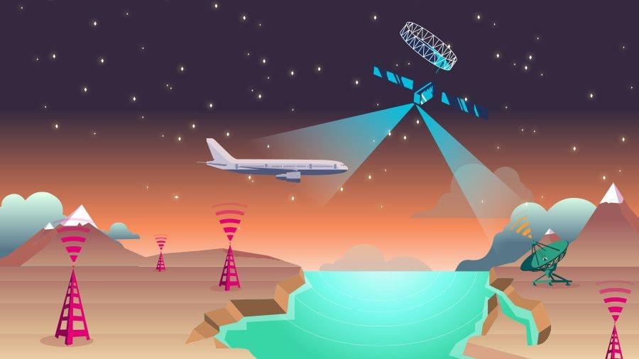 Rede Europeia de Aviação vai pôr Wi-Fi no ar