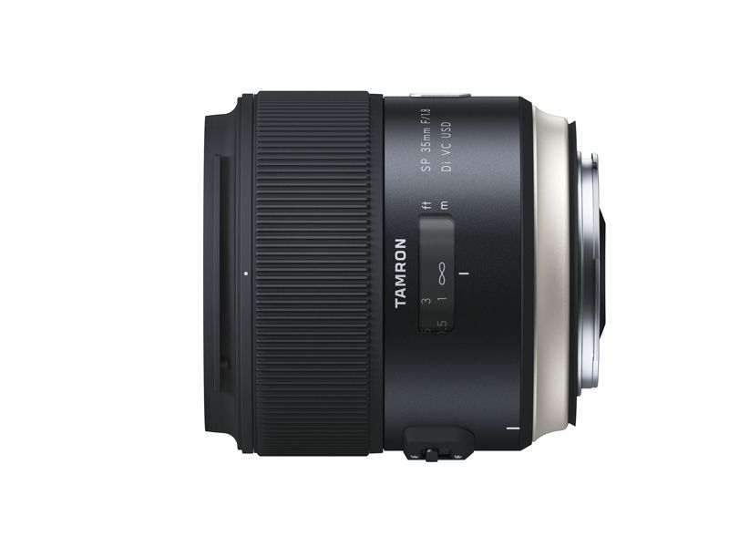 Tamron SP 35mm f012e_sideview