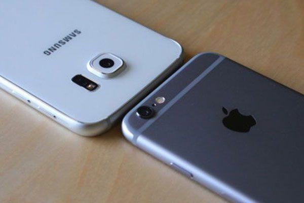 Apple iPhone 6s vs Samsung Galaxy S6 Edge