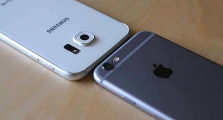 Apple iPhone 6s vs Samsung Galaxy S6 Edge