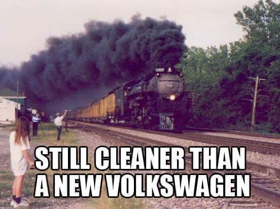 locomotiva vw facebook, humor, redes sociais, twitter, Volkswagen, vwgate; dieselgate, vwscandal
