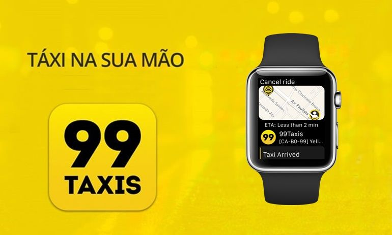 99TAXIS, android wear, App, apple watch, smartwatches