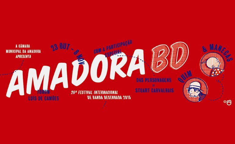 AmadoraBD 2015 – A festa da Banda Desenhada Portuguesa