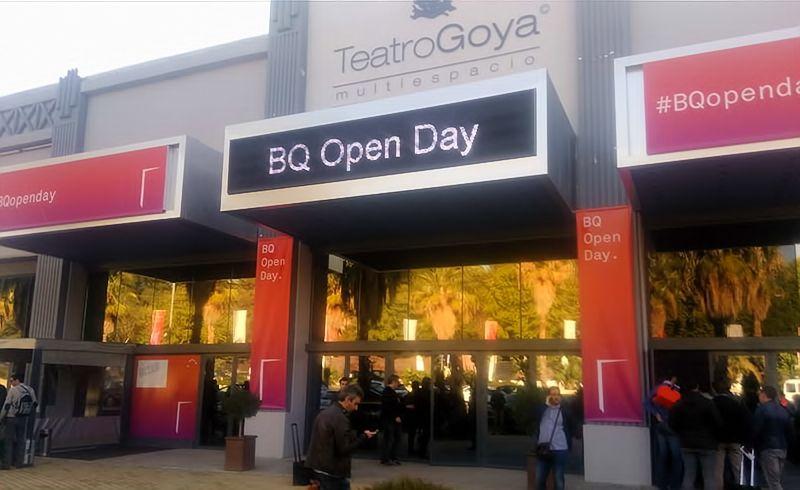 BQ promove Open Day em Madrid