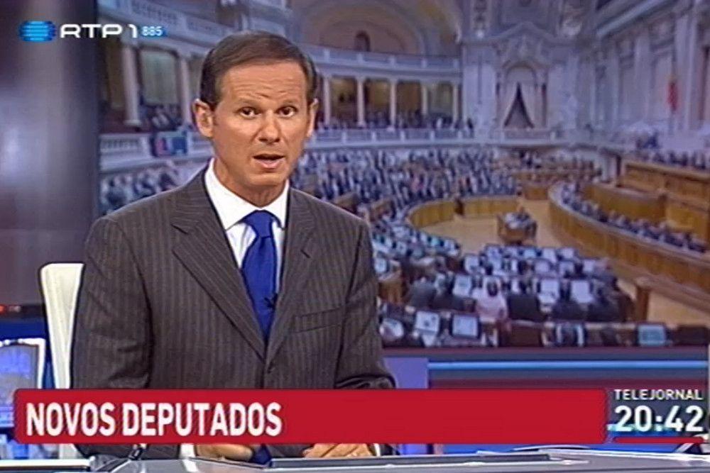 José Rodrigues dos Santos disse que deputado gay foi eleito ou eleita