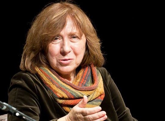 Svetlana Alexievich, Prémio Bobel da Literatura 2015