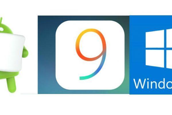 android ios windows 10 iOS9