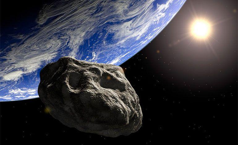 A Grande Abóbora asteroide