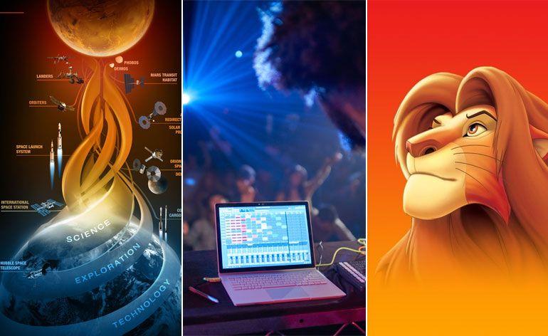 Surface Book - Espaço - rei Leão