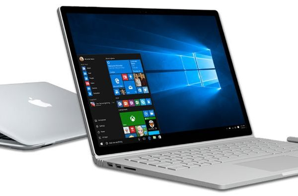 microsoft mac surface book