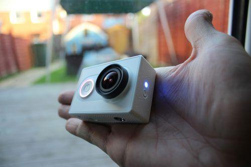 xiaomicamera10 action camera, GearBest, primeiras impressões, unboxing, Xiaomi, Xiaomi Mi Yi