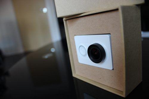 xiaomicamera5 action camera, GearBest, primeiras impressões, unboxing, Xiaomi, Xiaomi Mi Yi