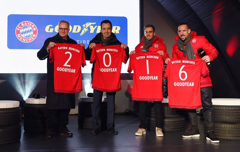 Goodyear e Clube de Futebol do Bayern de Munique