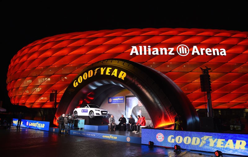 Bayern de Munique e Goodyear