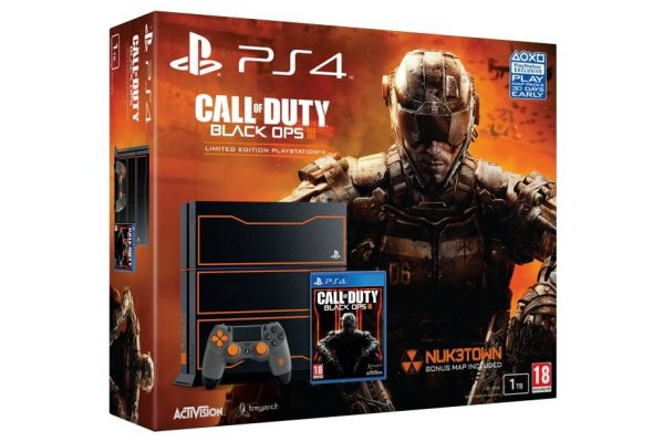 bundle PS4® com edição limitada de Call of Duty: Black Ops III