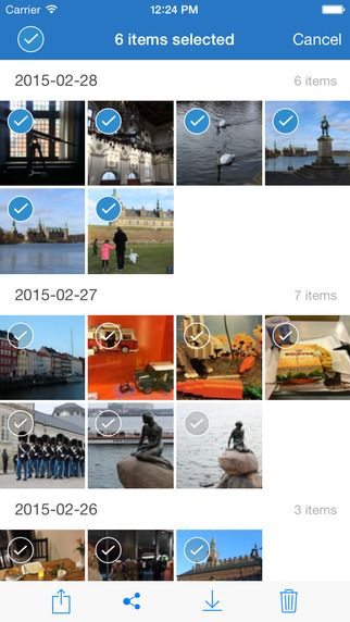 Qphoto2 App, app móvel Qphoto para iOS, iOS, iPad, iphone, NAS, QNAP, Qphoto