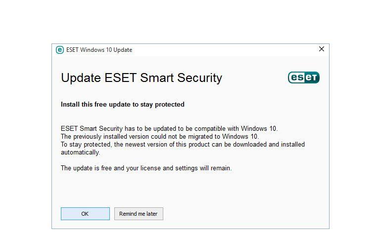 """Novas soluções ESET compatíveis com a mais recente atualização """"Threshold 2"""" do Windows 10"""