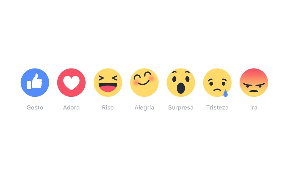 Facebook: 'Reactions' chega a Portugal