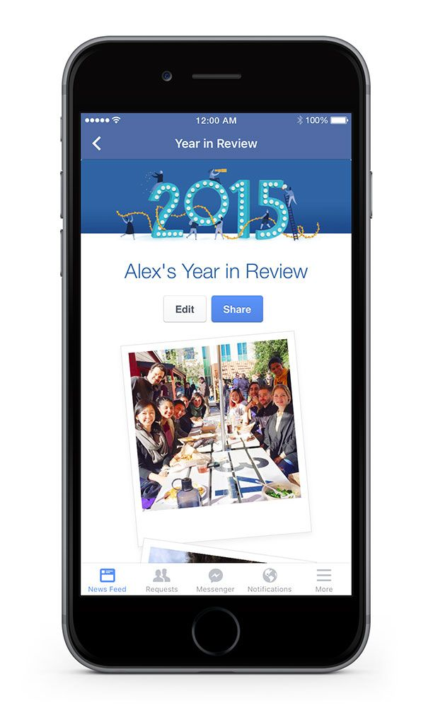 Facebook Year In Review Permalink