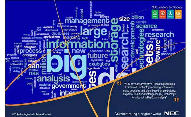 NEC desenvolve tecnologia de Inteligência Artificial que permite tomar decisões utilizando Big Data
