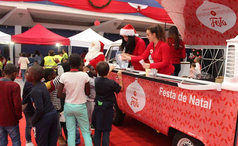 Vodafone Portugal celebra o Natal com iniciativas solidárias