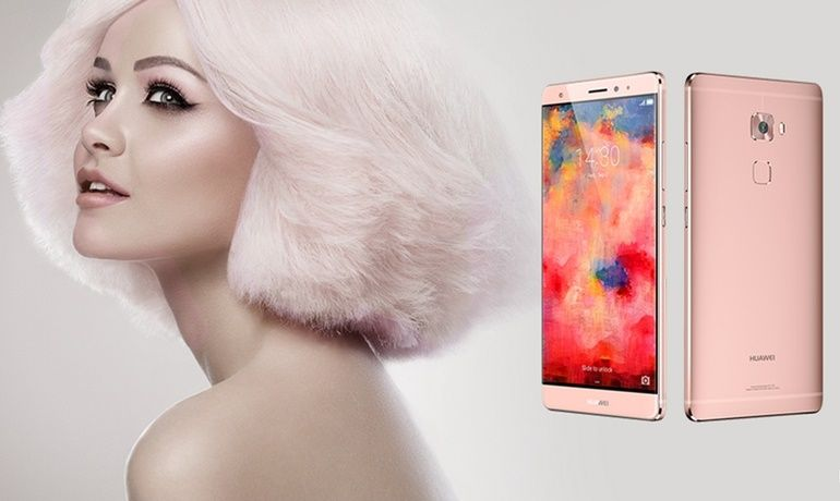 The rose gold Huawei Mate S Android, Huawei, Mate S, smartphone