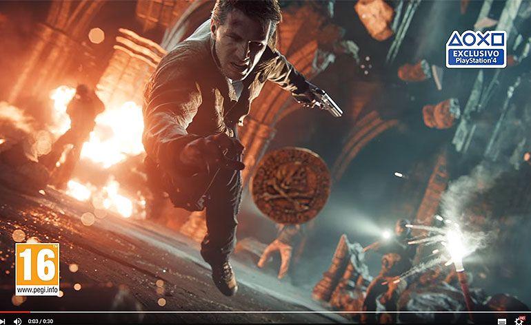 Novo trailer de Uncharted 4: O Fim de um Ladrão