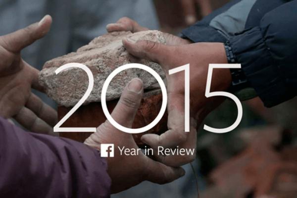 facebook libera listas com os assuntos mais comentados de 2015 Retrospectiva 2015
