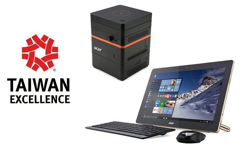 Acer conquista catorze prémios Taiwan Excellence