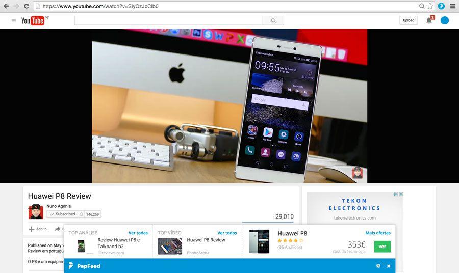Extensa¦âo PepFeed assistente de compras, Chrome, extensão, google chrome, navegador, PepFeed