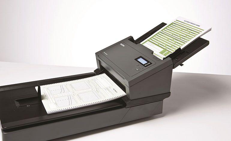 Brother apresenta a nova geração de scanners pofissionais
