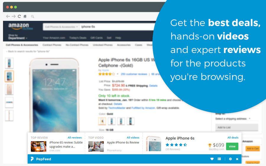 PepFeed1 assistente de compras, Chrome, extensão, google chrome, navegador, PepFeed