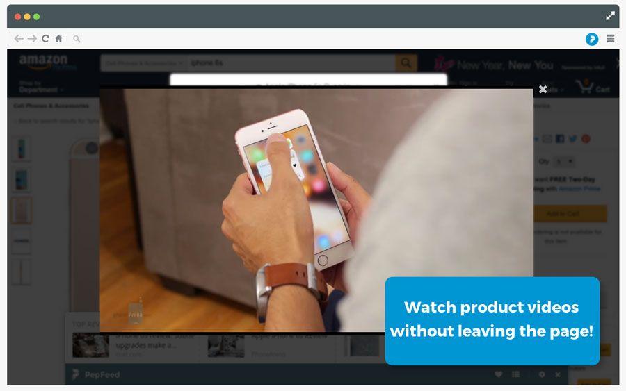 PepFeed2 assistente de compras, Chrome, extensão, google chrome, navegador, PepFeed