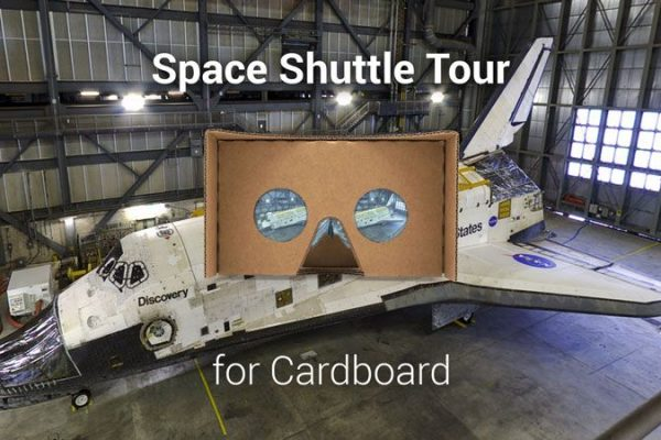 Space Shuttle Tour for Cardboard: a nova app que permite explorar o Vaivém Espacial em realidade virtual