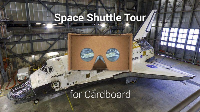 Space Shuttle Tour for Cardboard: a nova app que permite explorar o Vaivém Espacial em realidade virtual