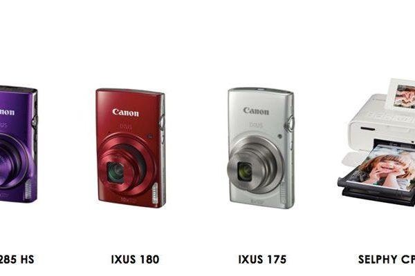 Canon apresenta as novas câmaras IXUS e a nova impressora compacta SELPHY
