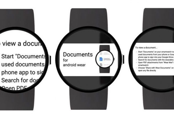 Documents para Android Wear